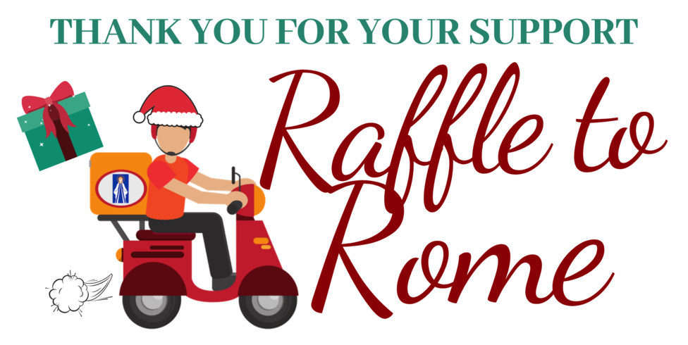 Copy Of Winter Raffle To Rome Packet Label 2