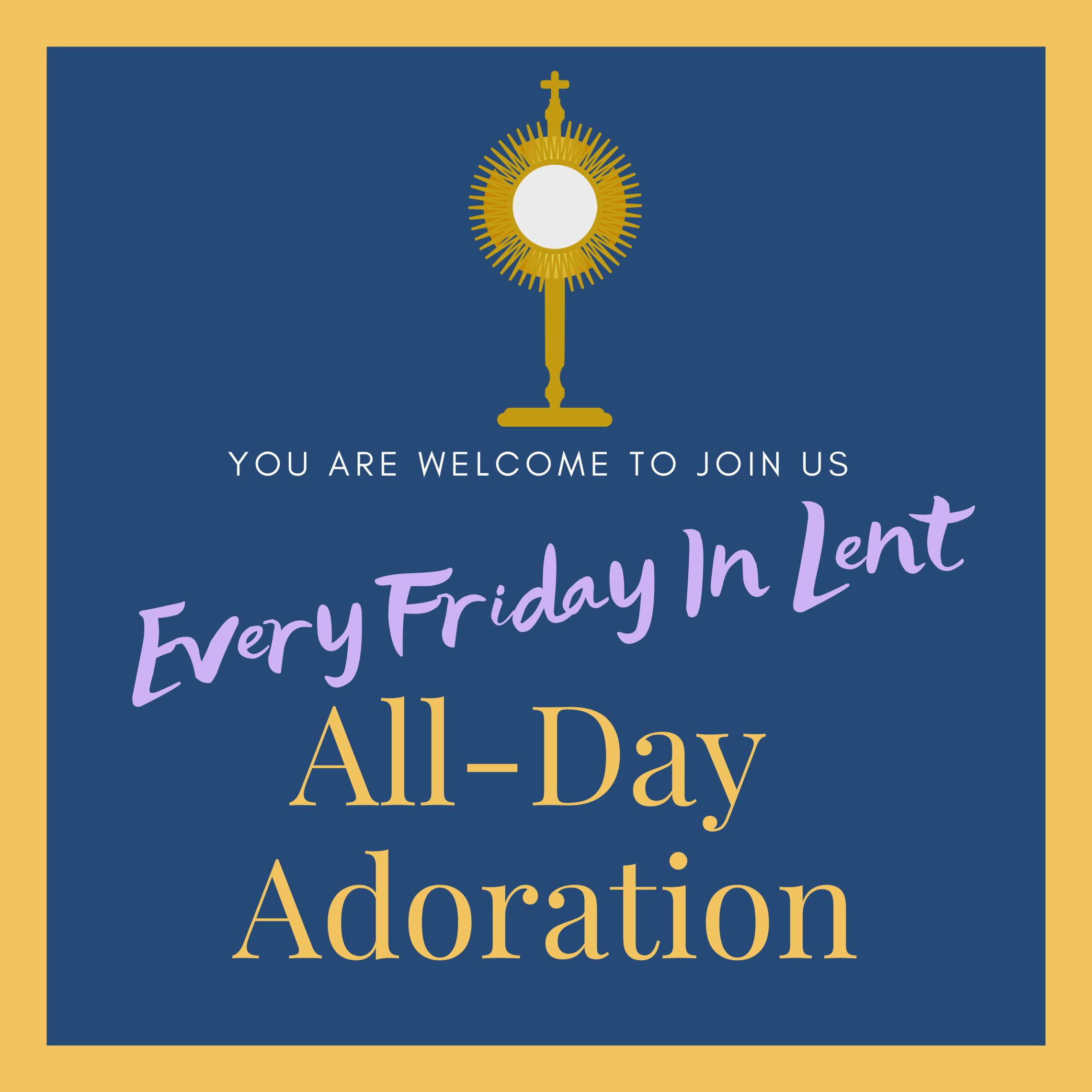 Lent Fridays