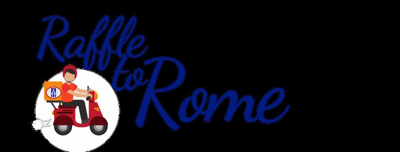 Web Logo Raffle To Rome