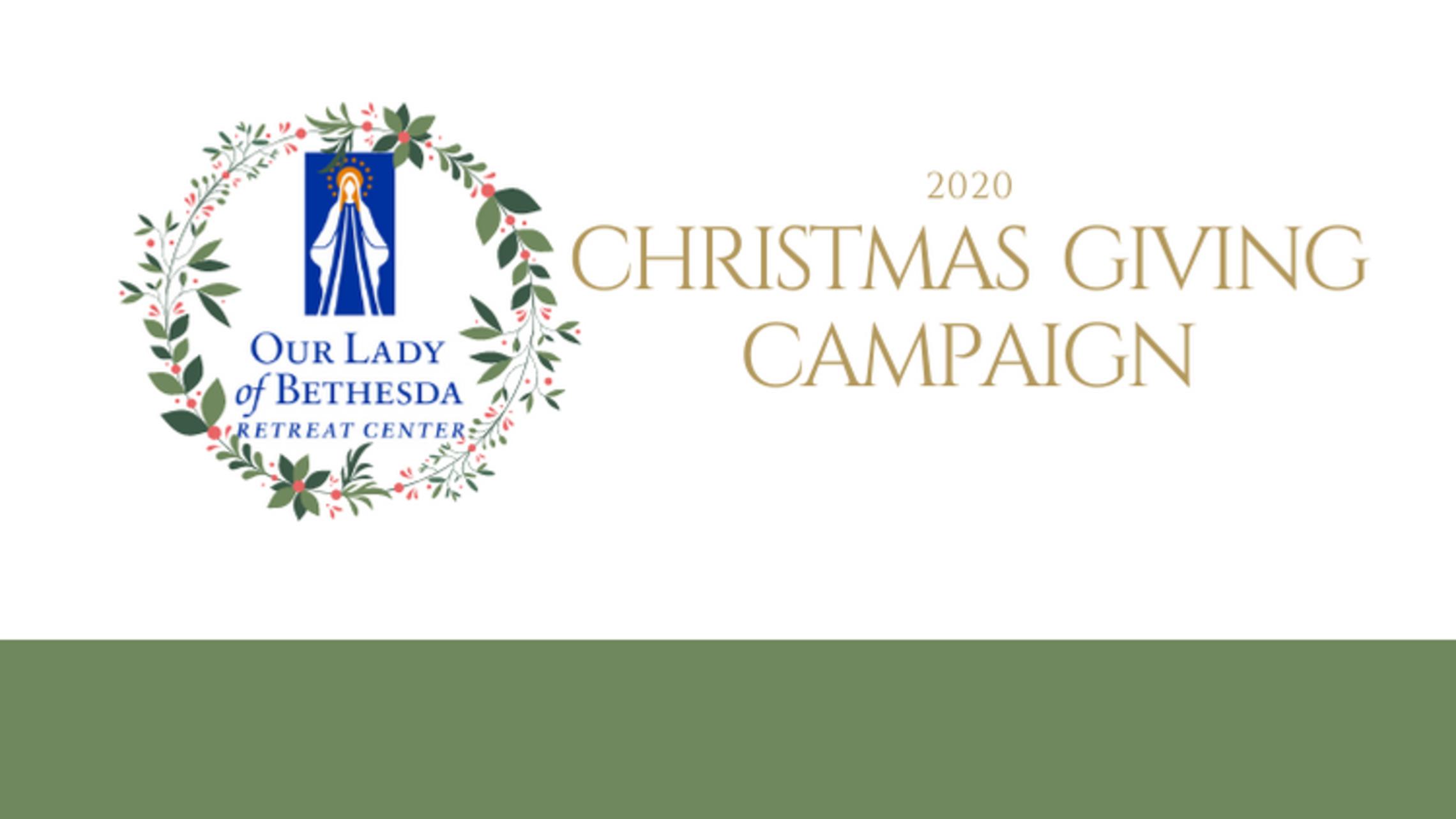 Xmas 2020 Logo Donate Button